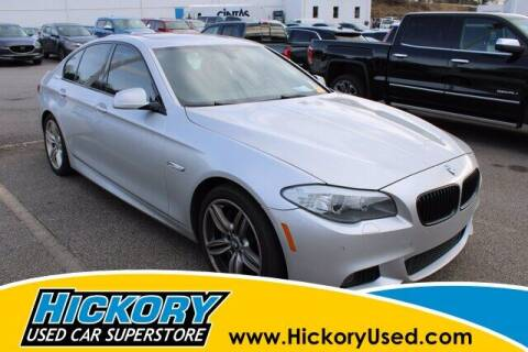 2013 BMW 5 Series for sale at Hickory Used Car Superstore in Hickory NC