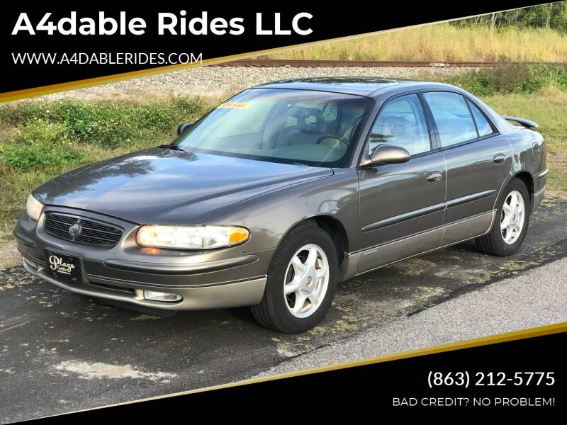 2002 Buick Regal for sale at A4dable Rides LLC in Haines City FL