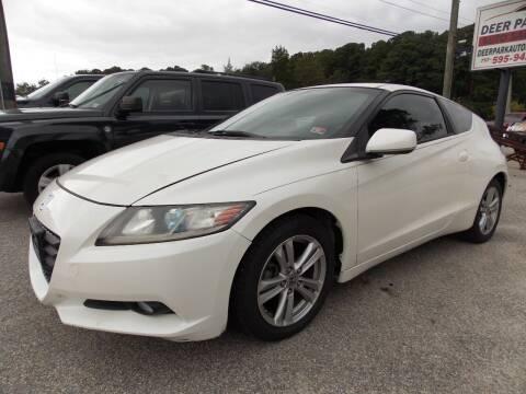 2011 Honda CR-Z for sale at Deer Park Auto Sales Corp in Newport News VA