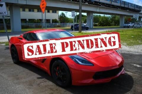 2019 Chevrolet Corvette for sale at STS Automotive - Miami, FL in Miami FL