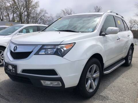 2012 Acura MDX for sale at Top Line Import of Methuen in Methuen MA