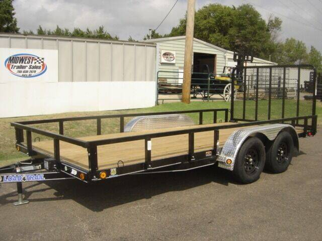 2022 83 X 16 LOAD TRAIL UTILITY for sale at Midwest Trailer Sales & Service in Agra KS