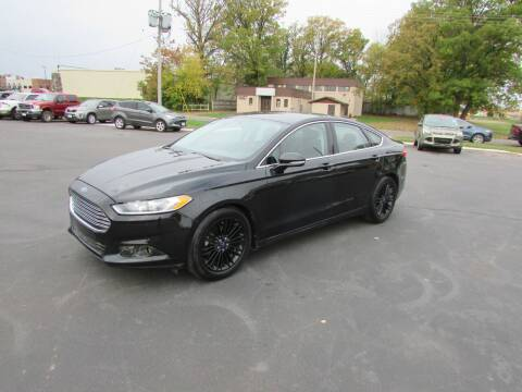 2014 Ford Fusion for sale at Fedder Motors in Mora MN