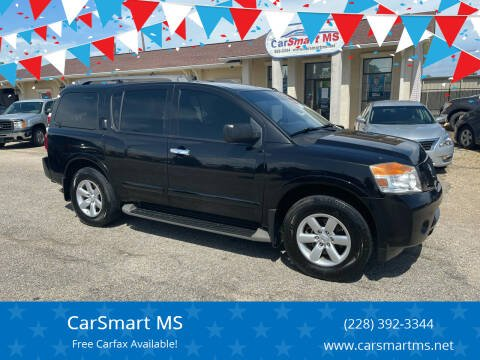 2013 Nissan Armada for sale at CarSmart MS in Diberville MS