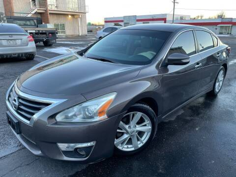 2013 Nissan Altima for sale at Zapp Motors in Englewood CO