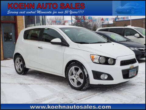 2013 Chevrolet Sonic for sale at Koehn Auto Sales in Lindstrom MN