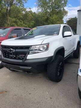 2018 Chevrolet Colorado for sale at Monster Motors in Michigan Center MI