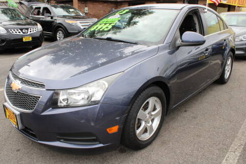 2013 Chevrolet Cruze for sale at Lodi Auto Mart in Lodi NJ