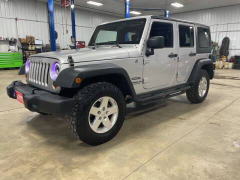 2012 Jeep Wrangler Unlimited for sale at Southwest Sales and Service in Redwood Falls MN