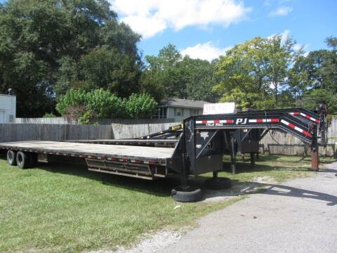2017 PJ  DECK TRAILER FLATBED TRAILER for sale at Colvin Auto Sales in Tuscaloosa AL