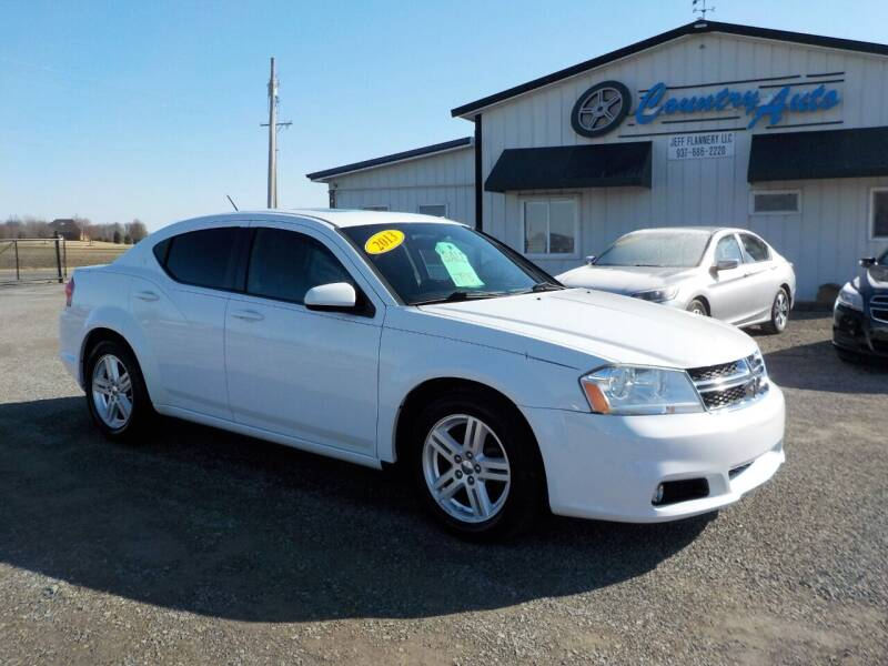 2013 Dodge Avenger for sale at Country Auto in Huntsville OH
