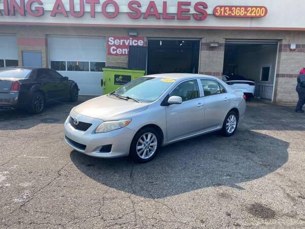 2009 Toyota Corolla for sale at KING AUTO SALES  II in Detroit MI