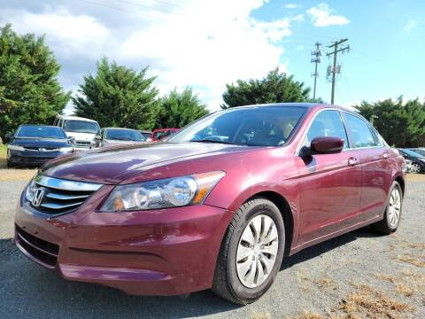2012 Honda Accord for sale at PERUVIAN MOTORS SALES in Warrenton VA