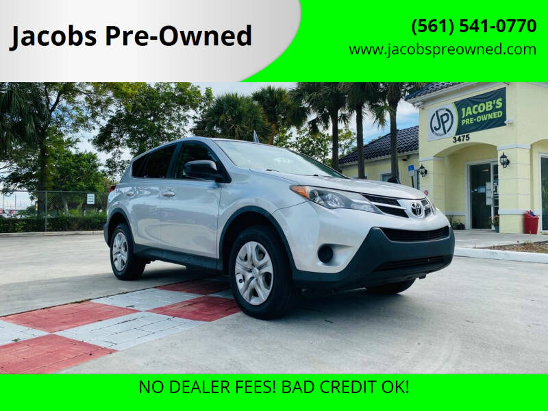 2015 Toyota RAV4 for sale at Jacobs Pre-Owned in Lake Worth FL