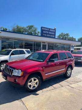 2006 Jeep Grand Cherokee for sale at Right Away Auto Sales in Colorado Springs CO