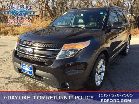 2014 Ford Explorer for sale at Fort Dodge Ford Lincoln Toyota in Fort Dodge IA
