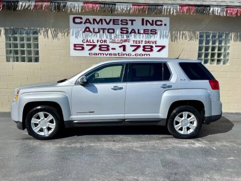 2010 GMC Terrain for sale at Camvest Inc. Auto Sales in Depew NY