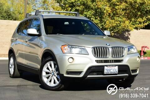 2013 BMW X3 for sale at Galaxy Autosport in Sacramento CA