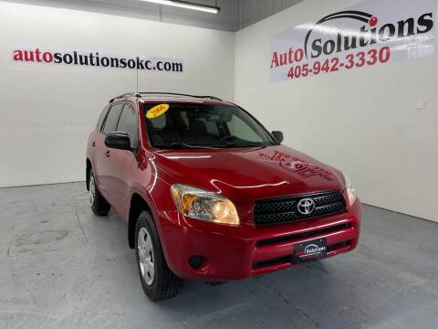 2006 Toyota RAV4 for sale at Auto Solutions in Warr Acres OK