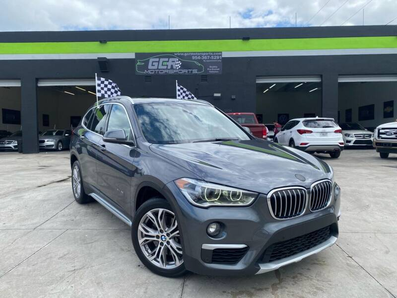 2017 BMW X1 for sale at GCR MOTORSPORTS in Hollywood FL