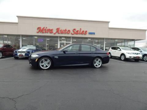 2012 BMW 5 Series for sale at Mira Auto Sales in Dayton OH