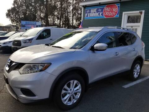 2014 Nissan Rogue for sale at Bridge Auto Group Corp in Salem MA