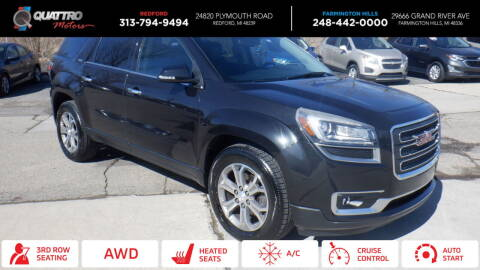 2013 GMC Acadia for sale at Quattro Motors 2 - 1 in Redford MI