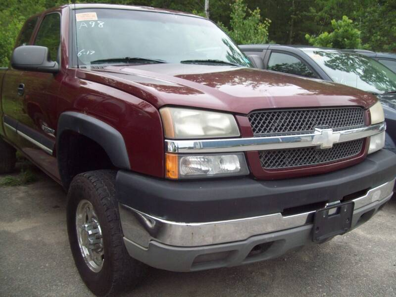 2003 Chevrolet Silverado 2500HD for sale at Frank Coffey in Milford NH