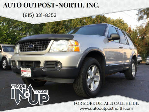2002 Ford Explorer for sale at Auto Outpost-North, Inc. in McHenry IL