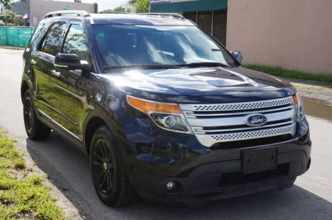 2015 Ford Explorer for sale at SUPER DEAL MOTORS in Hollywood FL