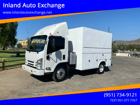 2017 Isuzu NPR for sale at Inland Auto Exchange in Norco CA