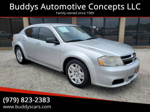 2012 Dodge Avenger for sale at Buddys Automotive Concepts LLC in Bryan TX