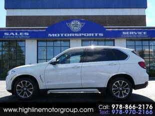 2018 BMW X5 for sale at Highline Group Motorsports in Lowell MA