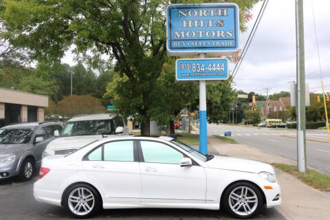 2014 Mercedes-Benz C-Class for sale at North Hills Motors in Raleigh NC