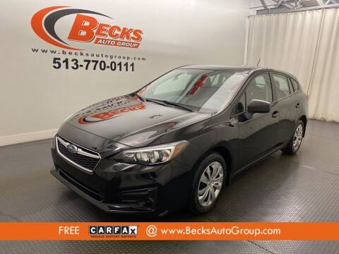 2019 Subaru Impreza for sale at Becks Auto Group in Mason OH