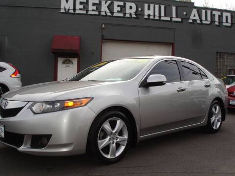 2010 Acura TSX for sale at Meeker Hill Auto Sales in Germantown WI