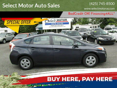 2011 Toyota Prius for sale at Select Motor Auto Sales in Lynnwood WA