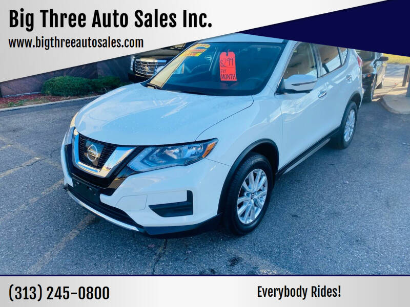 2017 Nissan Rogue for sale at Big Three Auto Sales Inc. in Detroit MI