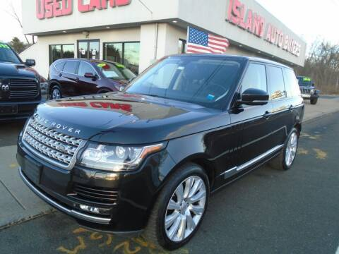 2015 Land Rover Range Rover for sale at Island Auto Buyers in West Babylon NY