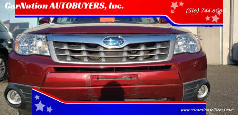 2013 Subaru Forester for sale at CarNation AUTOBUYERS Inc. in Rockville Centre NY
