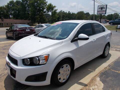 2016 Chevrolet Sonic for sale at High Country Motors in Mountain Home AR
