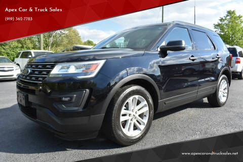 2016 Ford Explorer for sale at Apex Car & Truck Sales in Apex NC