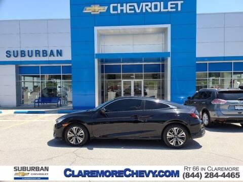 2016 Honda Civic for sale at Suburban Chevrolet in Claremore OK