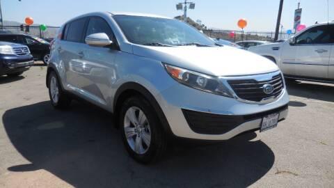 2012 Kia Sportage for sale at Luxor Motors Inc in Pacoima CA