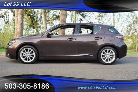 2011 Lexus CT 200h for sale at LOT 99 LLC in Milwaukie OR