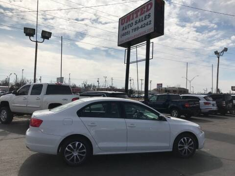 2012 Volkswagen Jetta for sale at United Auto Sales in Oklahoma City OK