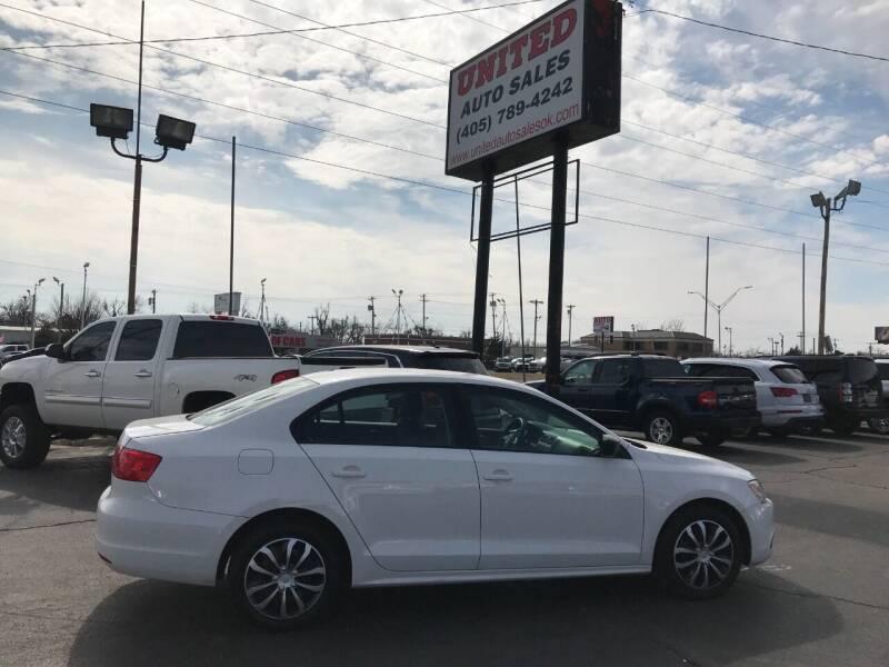 2012 Volkswagen Jetta for sale at United Auto Sales in Oklahoma City OK