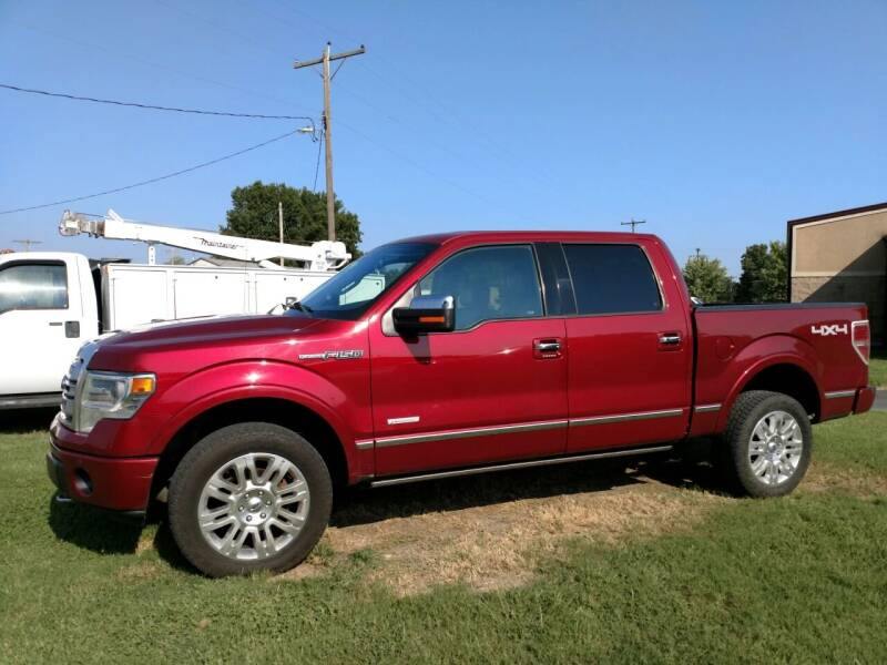 2013 Ford F-150 for sale at KW TRUCKING OF KS in Saint Paul KS