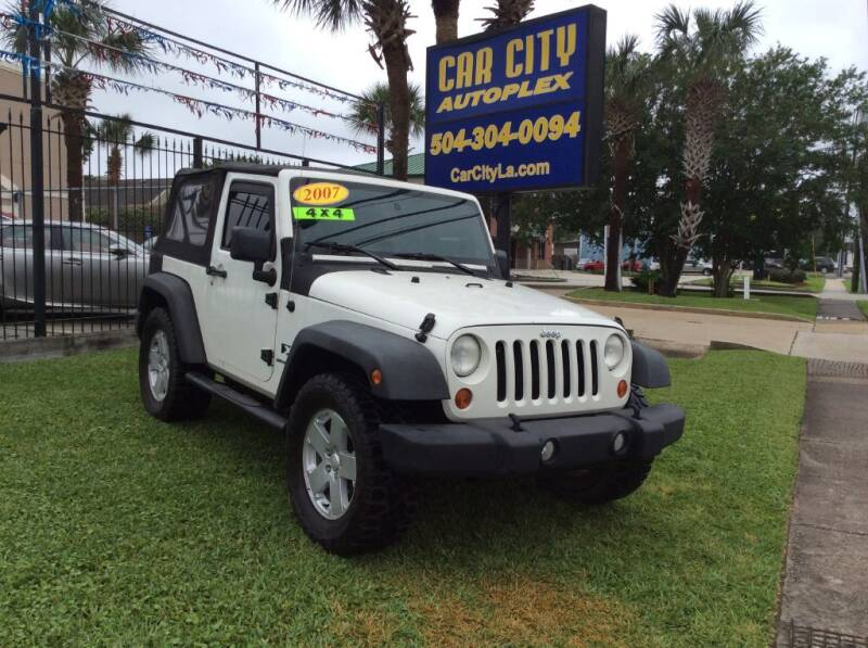 2007 Jeep Wrangler for sale at Car City Autoplex in Metairie LA