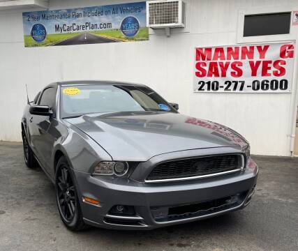 2014 Ford Mustang for sale at Manny G Motors in San Antonio TX